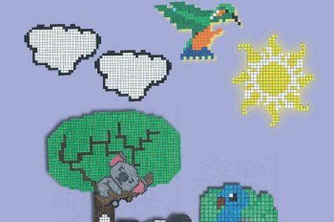 Le pixel art s'expose à la Médiathèque !