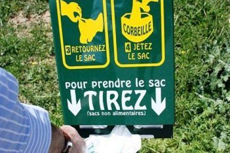 Déjections canines : le ramassage est obligatoire !