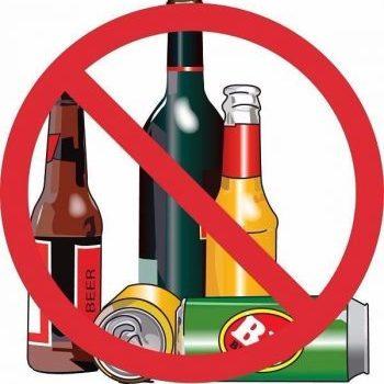 Alcool sur le domaine public : c'est interdit