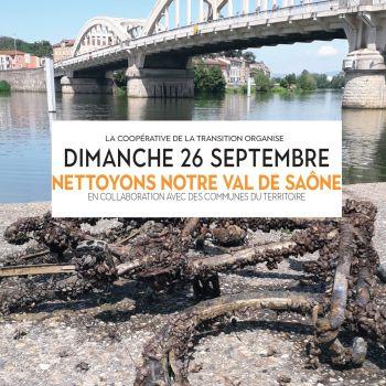 Nettoyons notre Val de Saône!